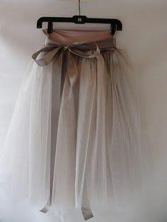 .Whimsical skirt