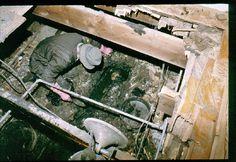 Skeletal Remains found in John Wayne Gacy's crawlspace.