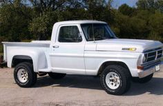 Customer Submitted Pictures of Ford Trucks Vintage Pickup Trucks, Lifted Chevy Trucks, Ford 4x4, Ford Pickup Trucks, 4x4 Trucks, Cool Trucks, Custom Trucks, Chevy Stepside, Toyota Tacoma Trd