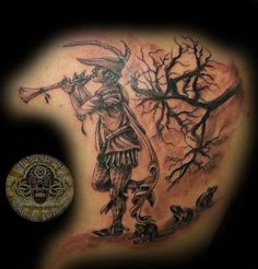pied piper of hamelin by 2Face-Tattoo.deviantart.com on @deviantART