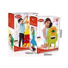 Onshine Puzzle 3D Giocattoli 132 Pezzi Plastica Assemblaggio Costruzione Blocchi Intelligenza Educativi per Bambini Ragazze Ragazzo: Amazon.it: Giochi e giocattoli