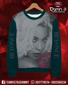 Buzo básico Beyoncé     https://www.facebook.com/CamisetasDamnit
