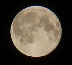 Last full moon of Summer 2015