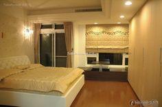 Minimalist bedroom decoration design effect picture 2015