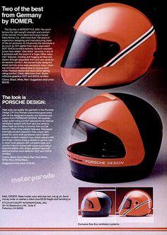 Porsche helmets, 80s