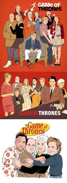 Game of Thrones reimagined as other shows…