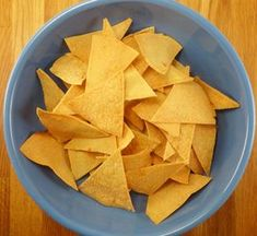 Nachos with Homemade Tortilla Chips | Culinary Adventures in the ...