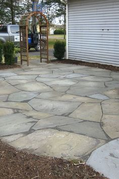 10 Beautiful Stone Patio Projects For You To Try Your Ideas