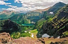 Glacier National Park (Waterton Glacier International Peace Park) (UNESCO, 1000 Places) - Montana, USA & Alberta, Canada