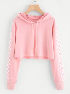 http://m.romwe.com/us/Contrast-Checked-Sleeve-Crop-Hoodie-p-265894-cat-673.html