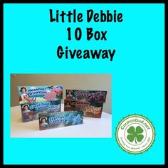 Enter to Win 10 boxes of Little Debbie Summer Treats!