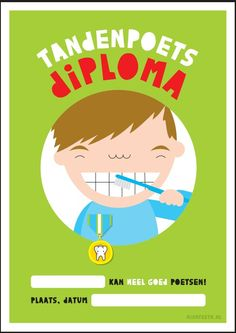 Tandenpoetsdiploma jongen