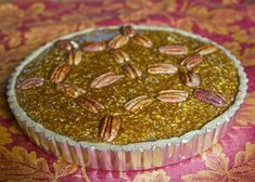 filled paleo pecan pie; there are several other Paleo recipes for an American Thanksgiving.  TRV