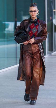 Bella Hadid Outfits, Bella Hadid Style, Bella Hadid Fall, Fashion Killa, Look Fashion, Autumn Fashion, Classy Fashion, Mens Fashion, Mode Streetwear