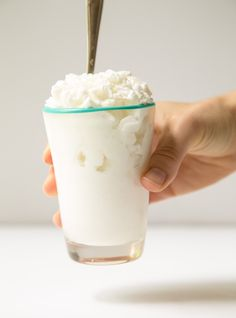 Coconut Shaved Ice. 2-ingredient #vegan ice cream @dessertfortwo - gluten free food  recipes
