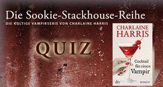 Endlich im Handel: Das neue Abenteuer von Sookie-Stackhouse, ›Cocktail für einen Vampir‹. Auf dieses Buch haben Sie schon sehnsüchtig gewartet, denn Sie sind ein echter Sookie-Stackhouse-Fan? Dann testen Sie jetzt Ihr Wissen rund um die beliebte Vampirserie von Charlaine Harris.