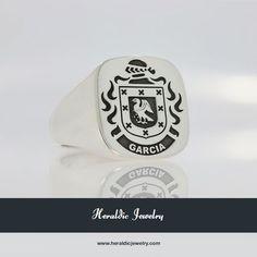 Garcia family crest jewelry