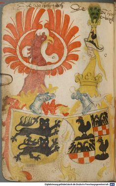 Ortenburger Wappenbuch Bayern, 1466 - 1473 Cod.icon. 308 u  Folio 150v