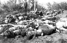Guerra Civil 1891  Cuerpos incinerados, tirados en fosas comunes...la tónica luego de las Batallas de Concón Y placilla