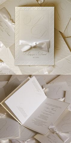 wedding cards, invitation, classical, ribbon