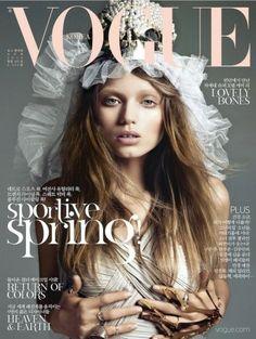 Abbey Lee Kershaw for Vogue Korea