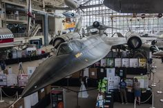 view of D-21 on M-21 Blackbird at the Museum of Flight in Seattle