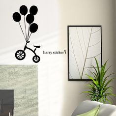 wallsticker balloons Wallpaper interior Design