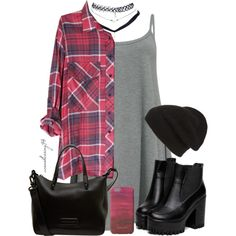 Grunge by avonsblessing94 on Polyvore featuring Wet Seal, Marc by Marc Jacobs, Phase 3 and Jigsaw