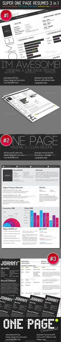 2 Double-Sided A5 Half Letter Coffee Bar Flyers 2!, Flyers and Bar - one page resumes