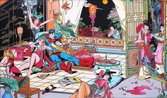 Superheroes Like to Party with Jacky Tsai