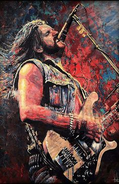 Hard Rock, Heavy Metal Art, Heavy Metal Bands, Music Artwork, Metal Artwork, Guitar Art, Rock Posters, Rock Legends, Pink Floyd