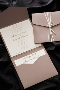 Wedding invitation - good source of inspiration - located QLD
