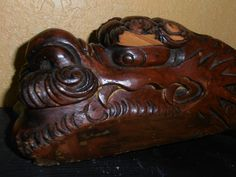 Wooden Dragon Salvaged Vintage by MADMrs on Etsy, $49.99