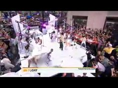 Lady Gaga - Teeth ( Live on The Today Show 9 July 2010 ) Official