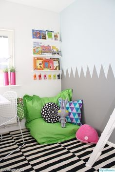 kids' room with edge