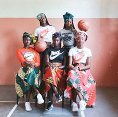 Senegalese basketball team.