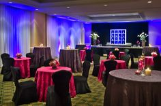 The Legends Ballroom is ideal for events seating up to 200 people. Our professional events team will work to create a lovely ambiance in the room while fulfilling your vision.