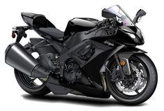 Kawasaki Ninja Black Motorcycle