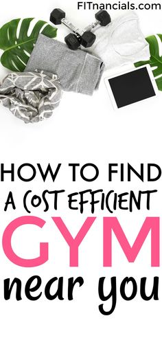 How to find an affordable gym near you without sacrificing anything. This is such a helpful list!