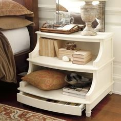 Travers Stepped Console traditional dressers chests and bedroom armoires