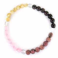 Gemstone ENERGY BRACELET Crystal Healing - LOVE - Crystal Rock Emporium
