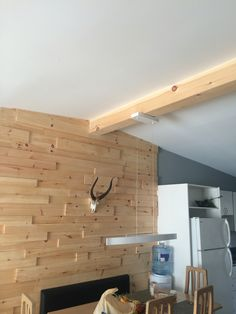 Home Makeover Completed with False Ceiling Beams | Fausse poutre ...