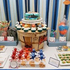 under the sea party...several fun ideas