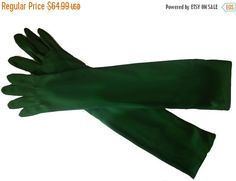 End of Summer Sale Vintage Selecta Opera Gloves by TAHITIBLOSSOM