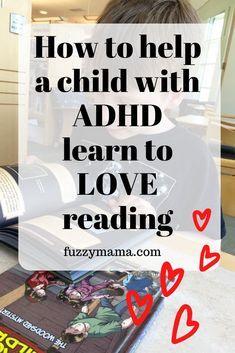 Reading Strategies for ADHD Kids - Fuzzymama