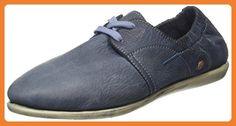 Softinos VEY900276SOF, Damen Schnürhalbschuhe, Blau (Marineblau), 39 EU - Schnürhalbschuhe für frauen (*Partner-Link)