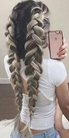 So you fancy long hair? Want to know how to grow long hair the right way? Looking for how to grow long hair the right way? These are the effective way you will know how to grow long hair the right way! Trending Hairstyles, Pretty Hairstyles, Straight Hairstyles, Braided Hairstyles, Everyday Hairstyles, Style Hairstyle, Formal Hairstyles, Hairstyle Ideas, Easy Long Hairstyles