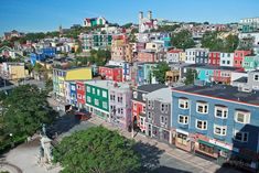 Newfoundland and Labrador, Canada Wonderful Places, Great Places, Places To See, Beautiful Places, Newfoundland Canada, Newfoundland And Labrador, St John's Canada, San Francisco Houses, Atlantic Canada