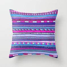 Mermaid Throw Pillow by Erin Jordan - $20.00