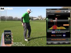 """""""Ask Golf Guru"""" Mark Crossfield explains how to increase hip speed in the golf swing and features the Golf MTRx app in the video.  Pelvis = Power...learn about Peak Time and understand how to improve your golf swing.  You can find Mark Crossfield on YouTube, Facebook & Twitter"""